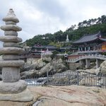 rock pagoda and temple