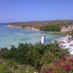 view from the main beach bar