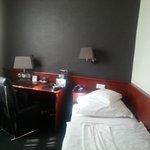 la stanza singola super accogliente