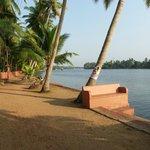 Vue sur les backwaters