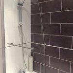 Good shower in new bathroom