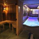 Sauna piscine