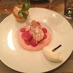 Dessert excellent aux fraises !