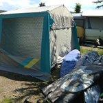 Aufbau des SUP Camps