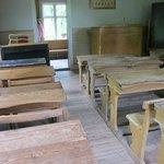 Klassenzimmer von damals