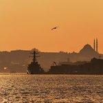 Стамбул на закате дня