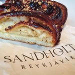 Pastries at Sandholt Bakery