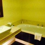 Bath in luxury suite