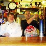 Meirion and Eleri Pugh Owners Tafarn Yr Eryrod/The Eagles Inn Llanuwchllyn Near Bala LL23 7U