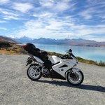 Honda VFR 800 on Southern Alps tour