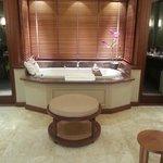 bathroom in beachfront villa