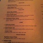 Awful menu choice.