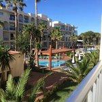 View from Ibiza block C