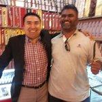 Very friendly ethnic muslim Uygur shop keepers