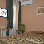 Gehandicapte kamer: bedden en ruimte omheen