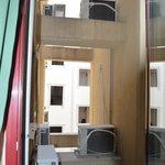 Gehandicapte kamer: raam uitzicht