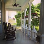 Front porch of the main house.