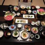 Dinner at Ryokan Tanabe