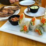 Vietnamese Rolls & Sweet Potatoes