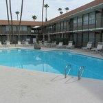 Schöne poolanlage