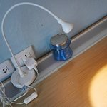 Power sockets at all practical locations in room