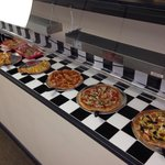 Great pizza and salad buffet!  Best prices in Mack City.