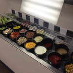 Super fresh salad bar!