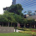 Zhongshan Park lies between Days Hotel & Ramada Hotel