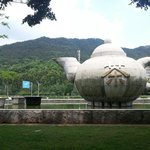 Huge Teapot at China Tea capital
