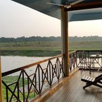 View from jungle wildlife camp