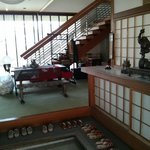 Guest house entry lobby