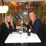 Romantic dinner at Strega, Roma