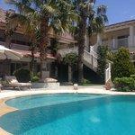 Pool Area & Hotel