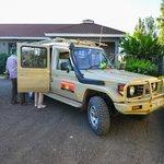 The Land Cruiser we used