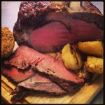 Sunday lunch served all day from 12 noon