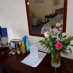 Flowers in our room