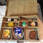 My room service breakfast