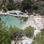 Cala Pi.  Beach about 12 miles away