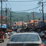 via centrale di Karon