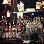 Extensive choice at the bar