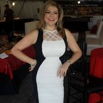 The D Casino Executive Host Yolla at Dinner
