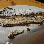 Torta: cocco, cioccolato e ricotta