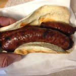 Double Sausage Sandwich (naked)