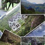 Collage of Scenic Views from The Hotel Dolserau- courtesy of Paul Rees