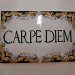 "Наш номер ""Carpe Diem"""