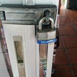 Lock to Front door