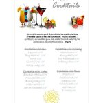 cocktail menu 2