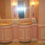 Pink ladies bathroom