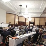 Meeting for 80 professionals held in Grand Ballroom I.