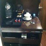 Wonderful Nespresso amenity in-room
